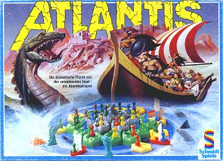 Atlantis - Brettspiel von J. + C. Courtland-Smith