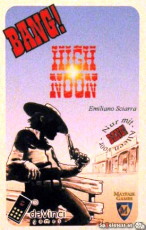 Bang - High Noon - Kartenspiel von Emiliano Sciarra