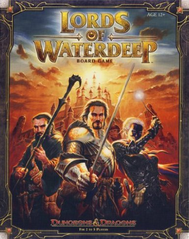 Lords of Waterdeep - Worker-Placement, Fantasy von Rodney Thompson & Peter Lee