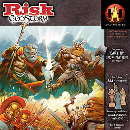 Risk Godstorm - Brettspiel / Strategiespiel von Mike Selinker