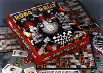 RoboRally - Brettspiel / Strategiespiel von Richard Garfield